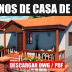 descargar plano de casa economica con medidas en dwg para autocad gratis