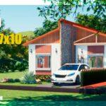 plano de casa economica con medidsa dwg para autocad pdf