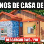 Plano de casa de 1 piso y 3 dormitorios economic casa pequeña