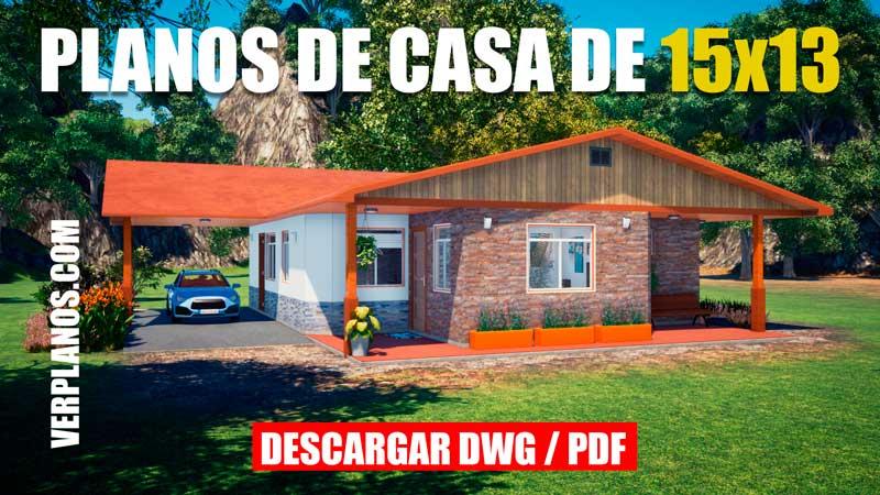 plano de casa grande con medidas dwg para autocad