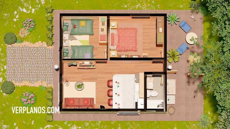 plano de casa planta