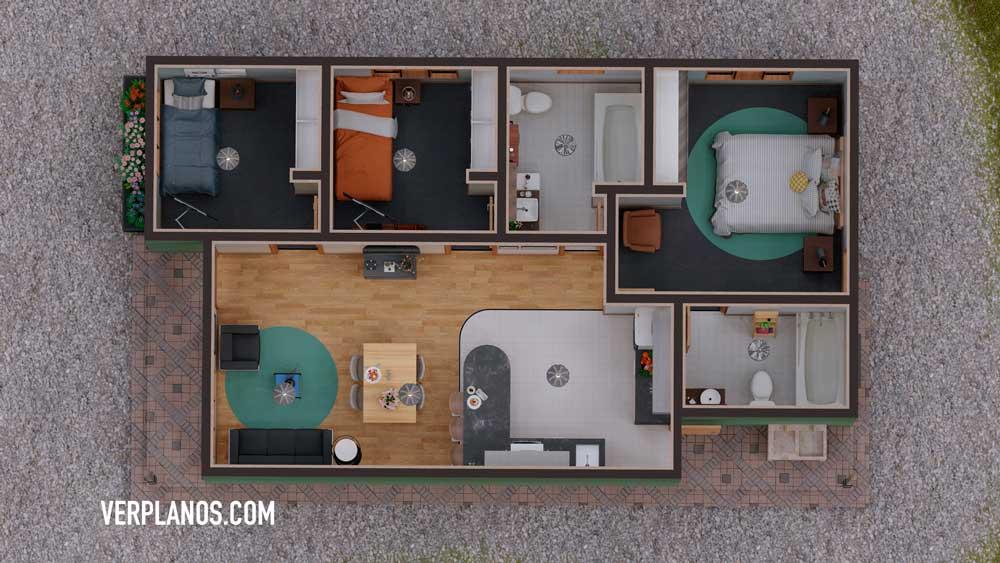 Vista previa de su planta de plano de casa
