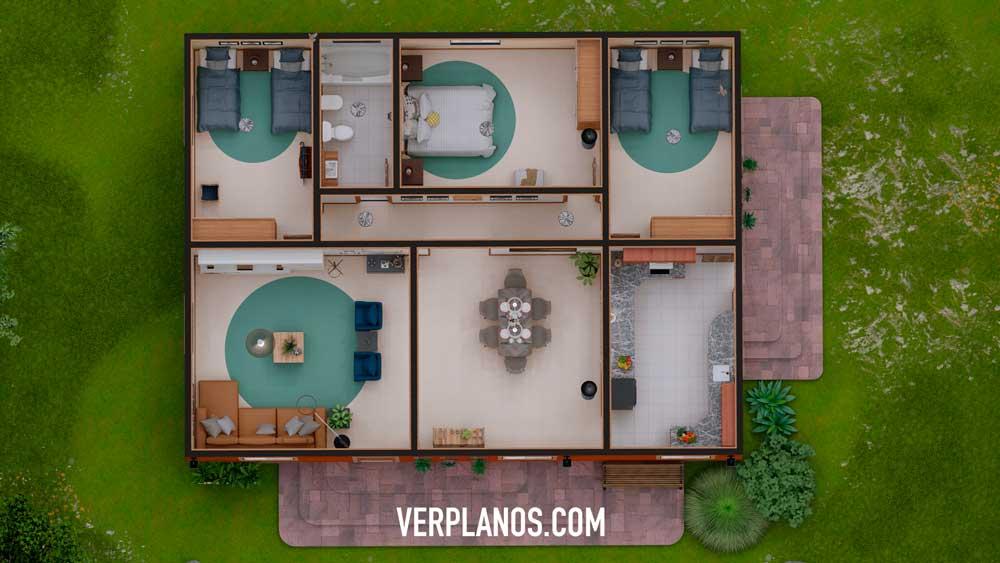 Vista previa de su planta del plano de casa
