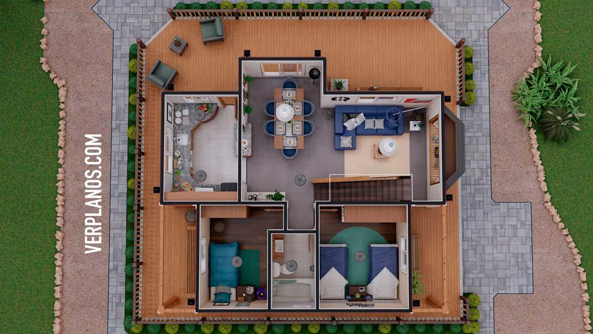 Vista previa primer piso